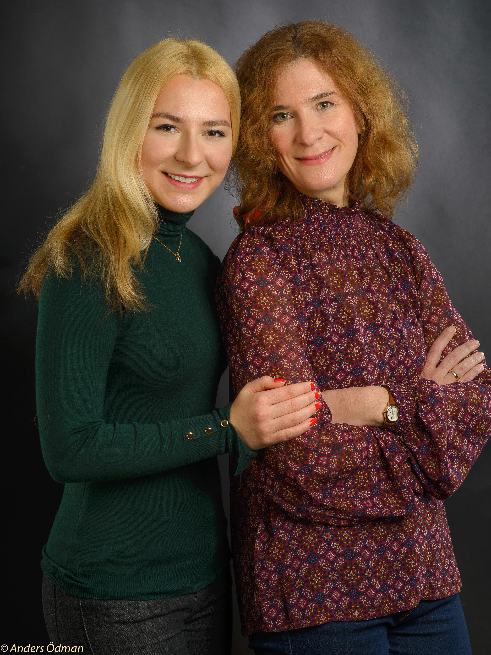Mamma och dotter