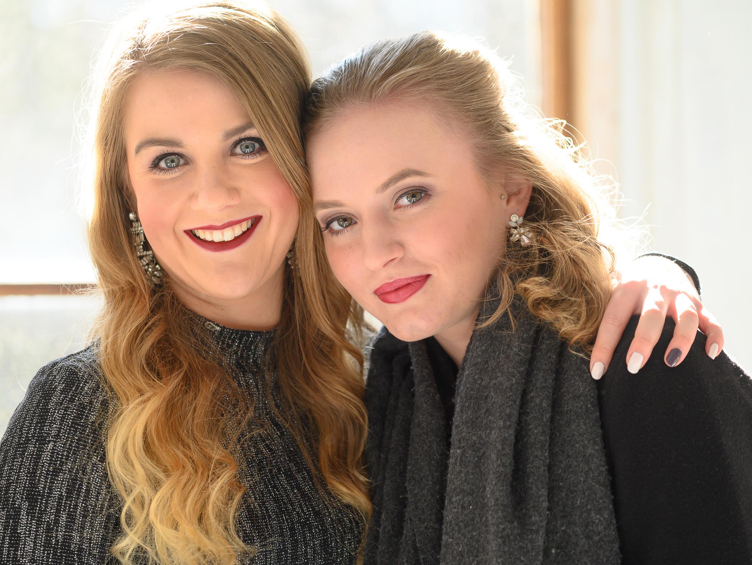 Två tjejer